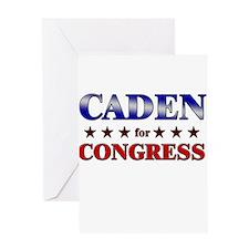 CADEN for congress Greeting Card