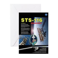 STS 116 Mission Poster Greeting Cards (Pk of 10)