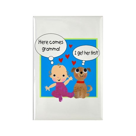 Grandma Love Rectangle Magnet