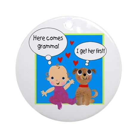 Grandma Love Ornament (Round)