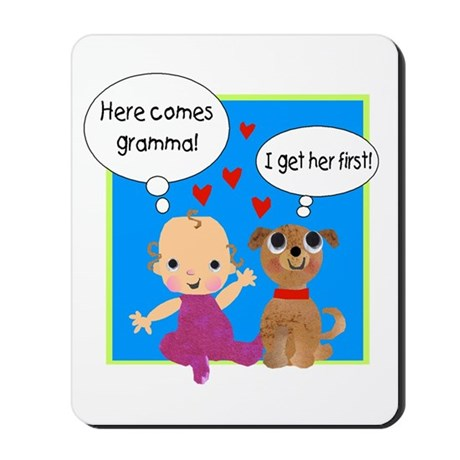 Grandma Love Mousepad