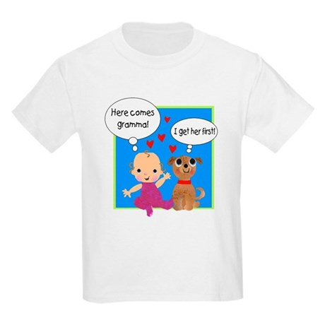Grandma Love Kids Light T-Shirt