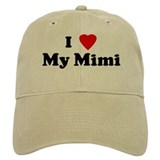 I Love My Mimi Baseball Cap