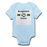 Bangladesh Soccer Infant Bodysuit