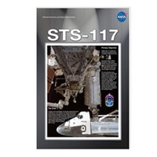 STS 117 Mission Poster Postcards (Package of 8)