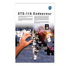 STS 118 Mission Poster Postcards (Package of 8)