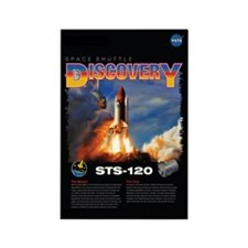 STS 120 Mission Poster Rectangle Magnet