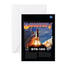STS 120 Mission Poster Greeting Cards (Pk of 10)