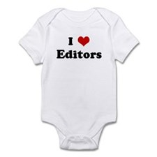 I Love Editors Onesie
