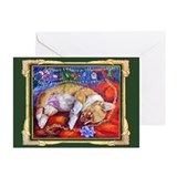 Pembroke Welsh Corgi Christmas Cards (Pk o