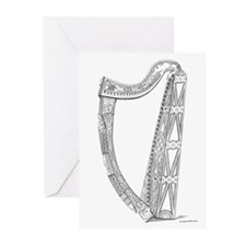 Ancient Harp Greeting Cards (Pk of 10)