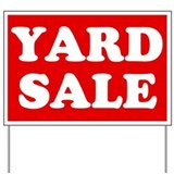 Yard Sale Yard Sign