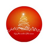 "Wonder of the Season 3.5"" Button (100 pack)"