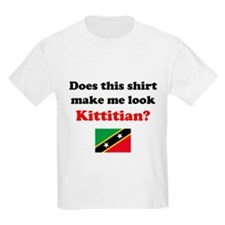 Make Me Look Kittitian T-Shirt