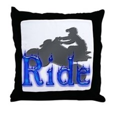 Ride All Day Throw Pillow
