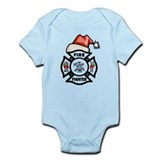 Christmas Firefighters Infant Bodysuit