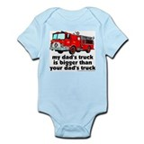 ...bigger than your dad's tru Infant Bodysuit