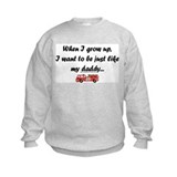 just like my daddy (Fire) Sweatshirt