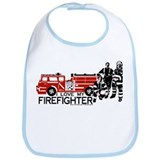 I love my firefighter Bib