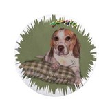 "Beagle 3.5"" Button"