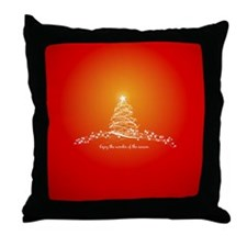 Wonder of the Season Throw Pillow