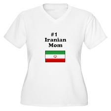 #1 Iranian Mom T-Shirt