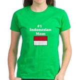 #1 Indonesian Mom Tee
