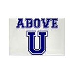 Above U Rectangle Magnet (100 pack)