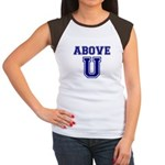 Above U Women's Cap Sleeve T-Shirt