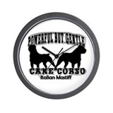 Powerful Cane Corso Wall Clock