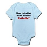 Make Me Look Catholic Onesie