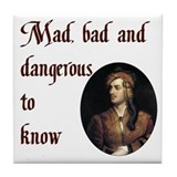 Byronic Tile Coaster