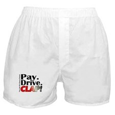 Pay, Drive, Clap - Dance Parent Boxer Shorts