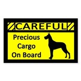 Precious Cargo Great Dane Sticker (Rect)