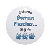 Pinscher Not Ornament (Round)