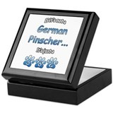 Pinscher Not Keepsake Box