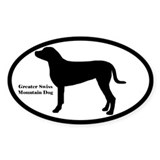 Greater Swiss Mountain Dog Silhouette Decal