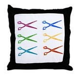Scissor Throw Pillow