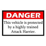 Attack Harrier Decal