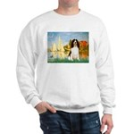 Sailboats / Eng Spring Sweatshirt
