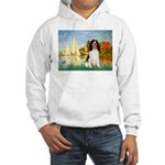 Sailboats / Eng Spring Hooded Sweatshirt