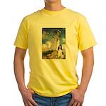 Umbrella / Eng Spring Yellow T-Shirt