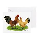 Nankin Bantams Greeting Cards (Pk of 20)