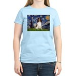 Starry Night / Eng Spring Women's Light T-Shirt