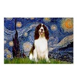 Starry Night / Eng Spring Postcards (Package of 8)