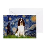 Starry Night / Eng Spring Greeting Card