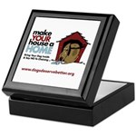 A Dog House is NOT A Home Keepsake Box