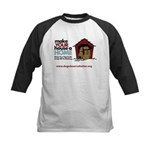 A Dog House is NOT A Home Kids Baseball Jersey