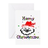 Merry Christmas Santa - Greeting Cards (Pk of 10)