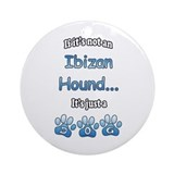 Ibizan Hound Not Ornament (Round)